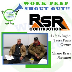 Shout Out RSR Construction