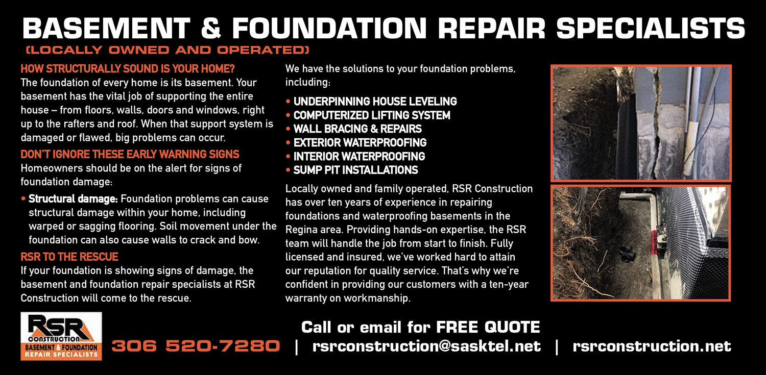 Basement & Foundation Repair Specialists