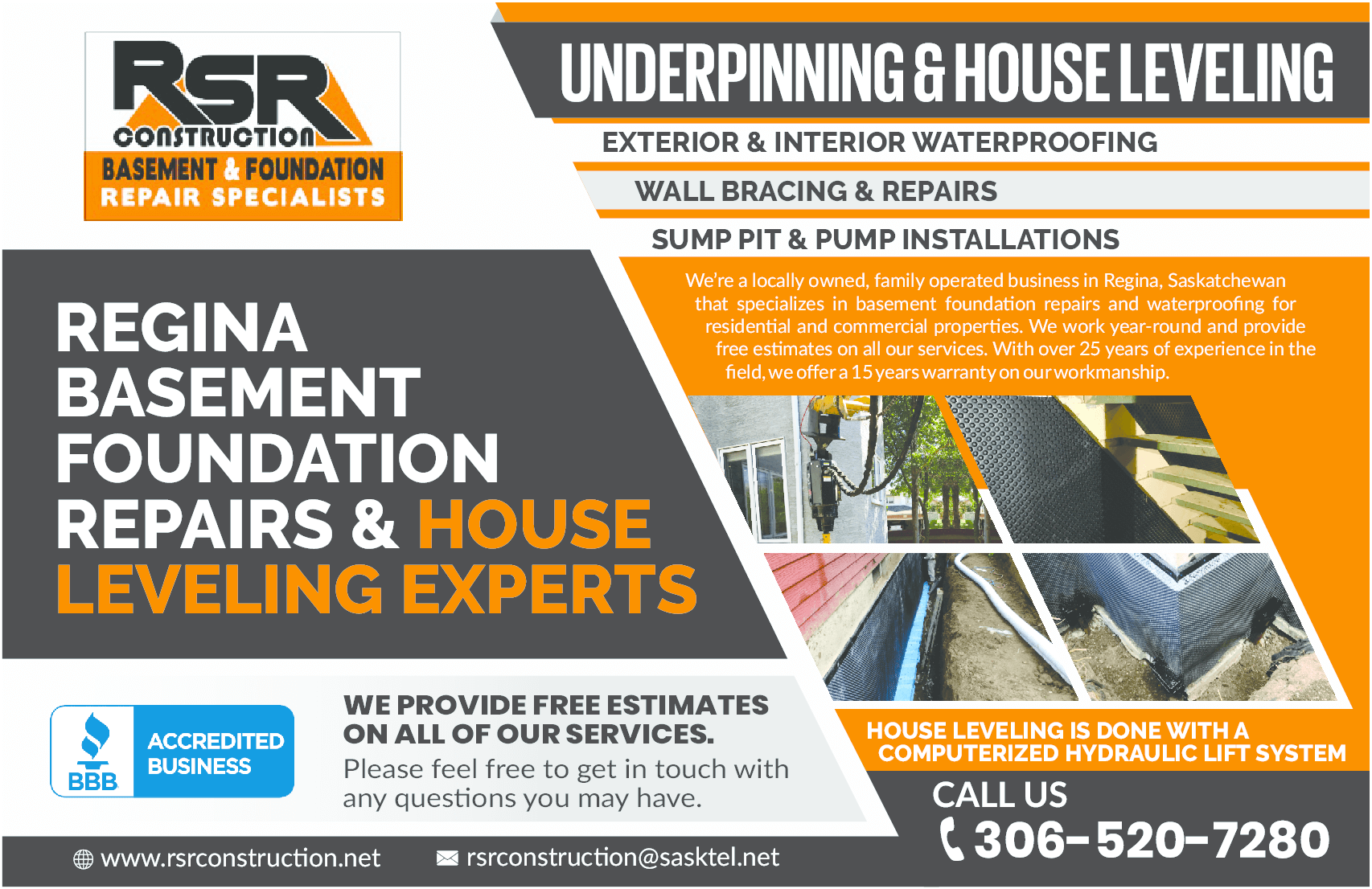 RSR Construction Flyer